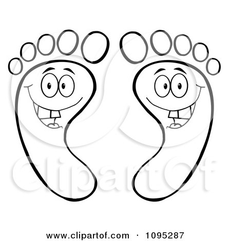 Royalty-Free (RF) Happy Feet Clipart, Illustrations ...