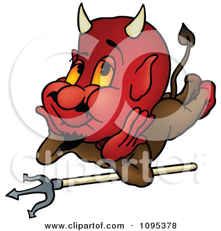 Royalty-Free (RF) Clipart of Red Devils, Illustrations ...
