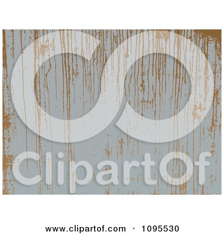 Clipart Brown Rust Dripping Down Gray Metal - Royalty Free Vector Illustration by BestVector