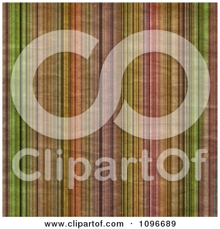Clipart Background Of Grungy Vertical Stripes - Royalty Free Illustration by KJ Pargeter