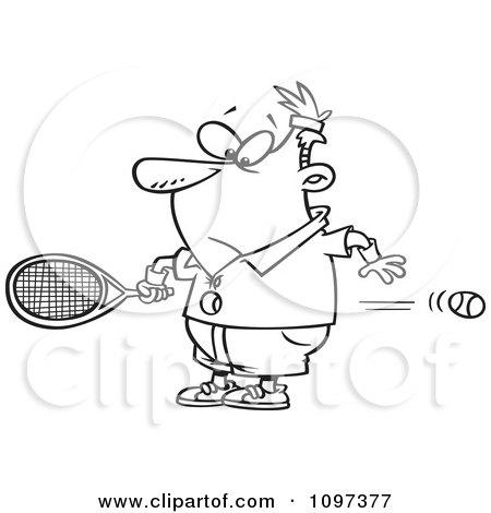 Royalty-Free (RF) Clip Art Illustration of a Cartoon Male ...