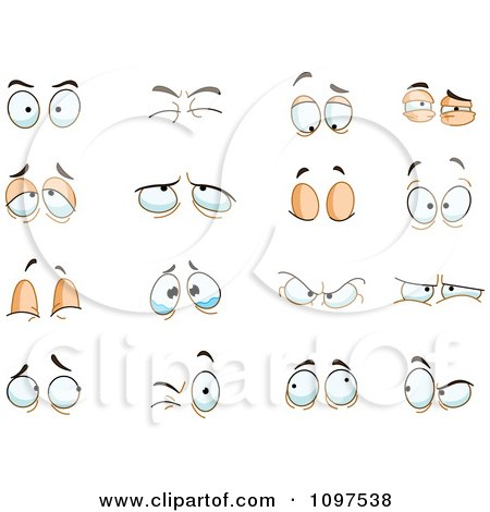 Royalty-Free (RF) Clipart of Crying Eyes, Illustrations, Vector ...