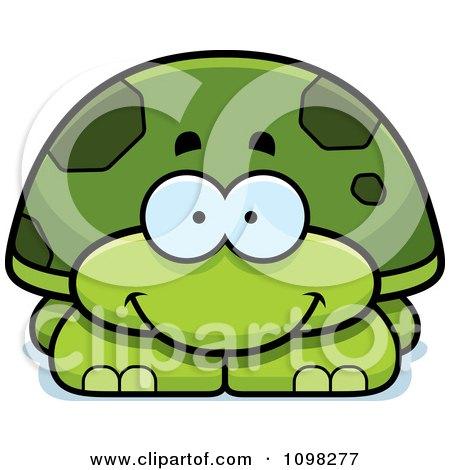 Happy Green Tortoise Turtle Posters, Art Prints