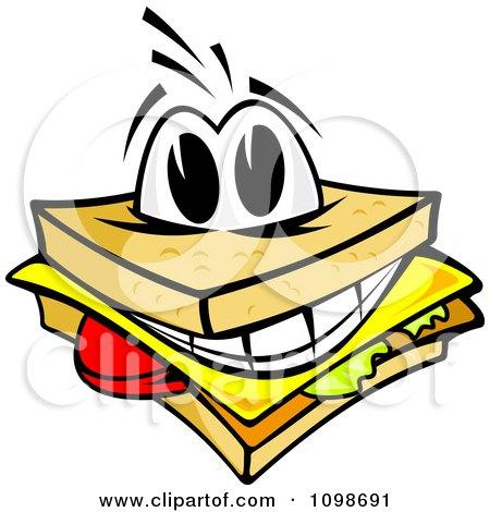 Ham Sandwich Clipart