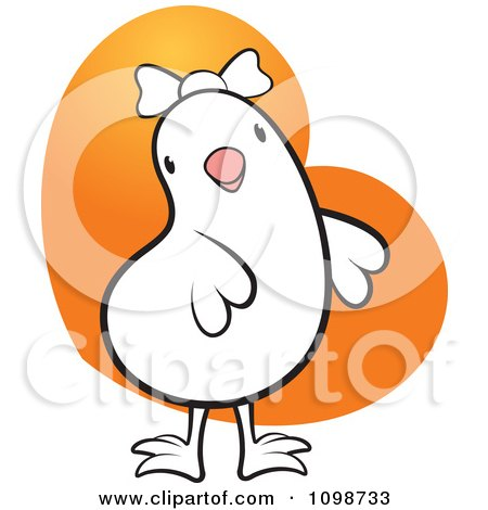 Royalty-Free (RF) Clipart Illustration of a Brown Hen ...