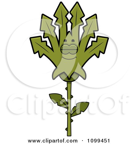 Clipart Sleeping Marijuana Pot Leaf Mascot - Royalty Free Vector Illustration by Cory Thoman