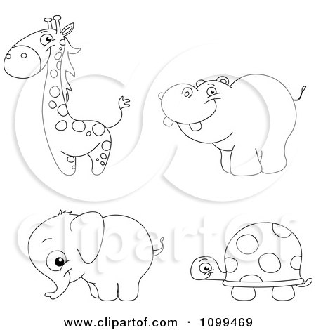 Royalty Free Rf Clip Art Illustration Of A Cute Bue Baby