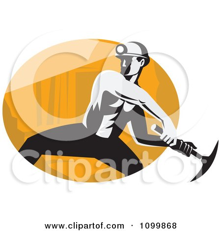 Royalty-Free (RF) Clipart of Coal Miners, Illustrations, Vector ...