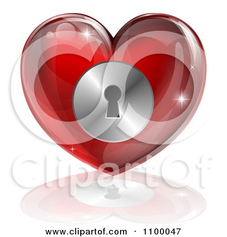 Young Woman Holding Her Hands Together To Form A Heart On