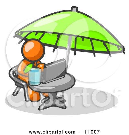 "Coffee Table - Kingsley Bate Es 36"" Umbrella Coffee Table"