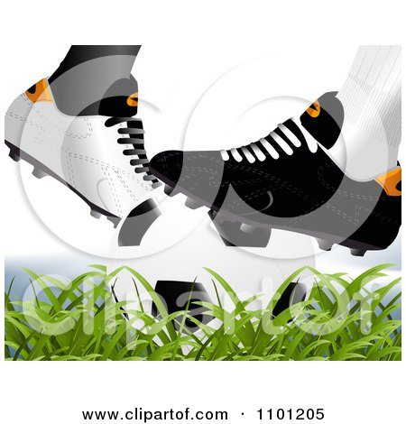 Soccer Cleat Clip Art