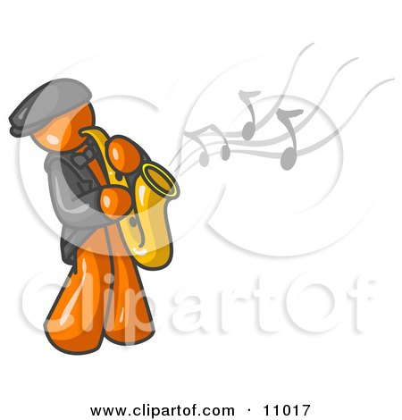 Royalty-Free (RF) Saxophone Clipart, Illustrations, Vector Graphics #1