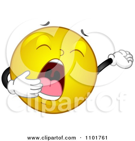 Royalty-Free (RF) Yawning Clipart, Illustrations, Vector ...