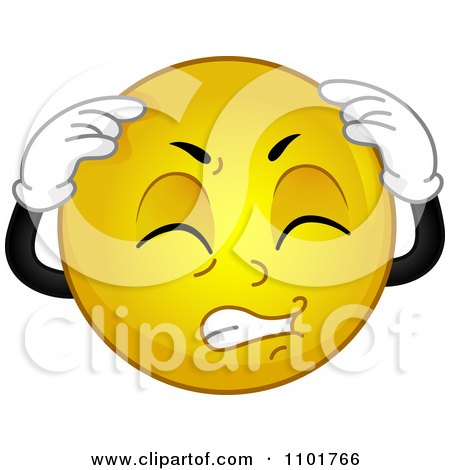 http://images.clipartof.com/small/1101766-Clipart-Yellow-Smiley-With-A-Migraine-Royalty-Free-Vector-Illustration.jpg
