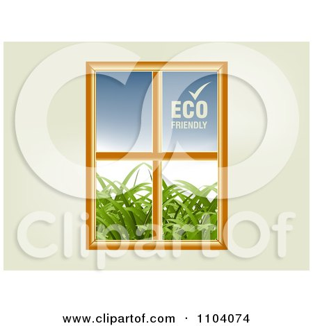 Royalty free rf eco friendly clipart illustrations for Eco friendly windows