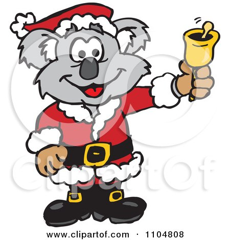 Royalty-Free (RF) Australian Santa Clipart, Illustrations, Vector ...