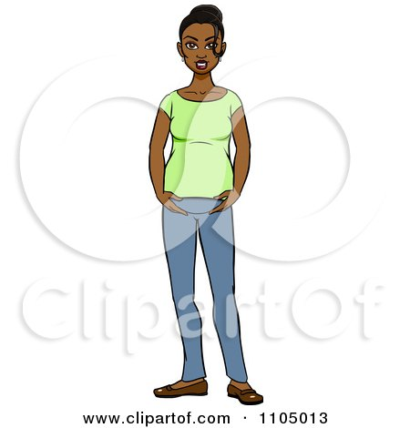 Royalty free rf black woman clipart illustrations 12