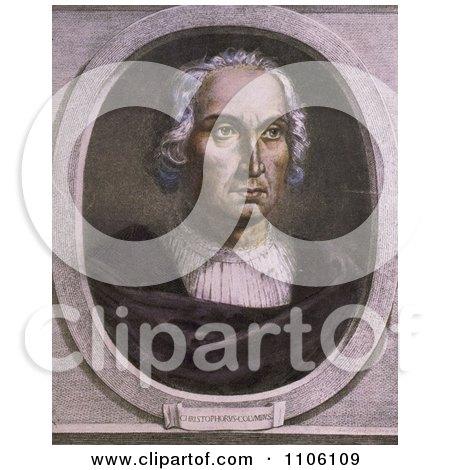 Christophorus Columbus - Royalty Free Historical Stock Illustration by JVPD