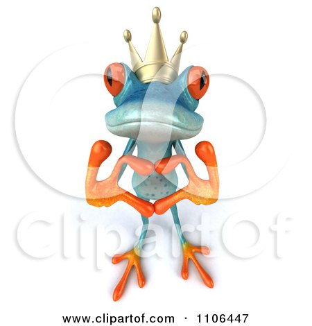 Royalty-Free (RF) Frog Prince Clipart, Illustrations, Vector ...
