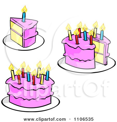 Photos Of Birthday Cakes With Candles And Small Black Dog