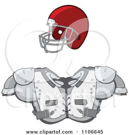 Royalty Free Rf Protective Equipment Clipart