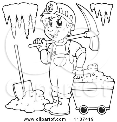 How To Draw A Gold Rush Miner