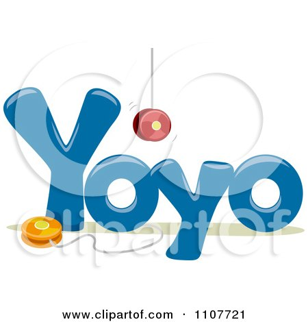 Letter y Words The Word Yoyo For Letter y