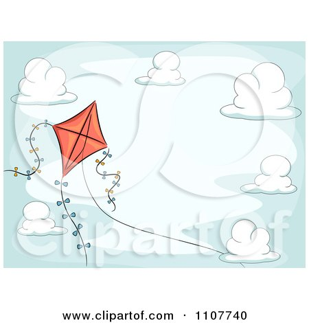 Royalty-Free (RF) Kite Background Clipart & Illustrations #1