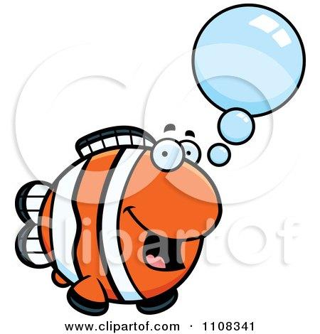 Clipart Talking Clownfish - Royalty Free Vector Illustration by Cory Thoman