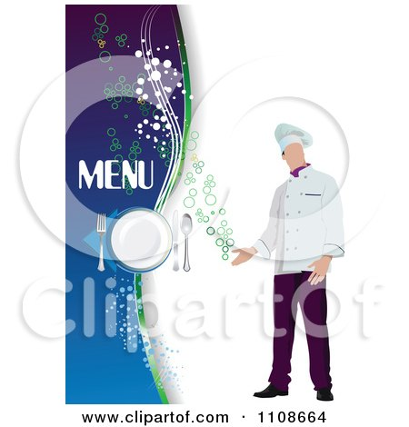 Royalty free stock illustrations of menus by leonid page 1 for Chef portfolio template