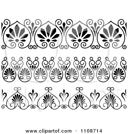 Royalty-Free (RF) Clipart of Art Deco Borders, Illustrations ...