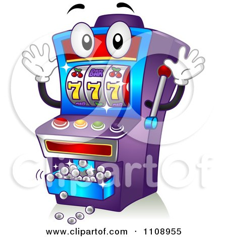 Casino Game Slot Machine Clip Art