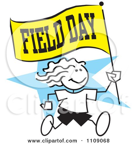 Royalty Free Field Day Illustrations by Johnny Sajem Page 1