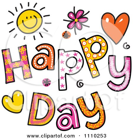 Royalty Free Rf Happy Day Clipart Illustrations Vector