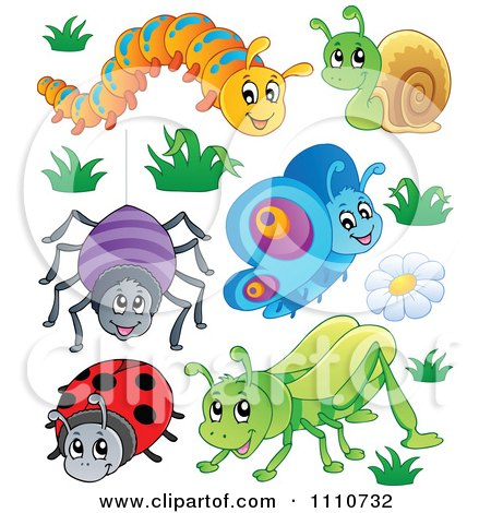 Royalty Free Caterpillar Illustrations by visekart Page 1