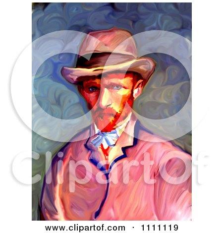 Revision Of Goghs 1887 Self Portrait Posters, Art Prints