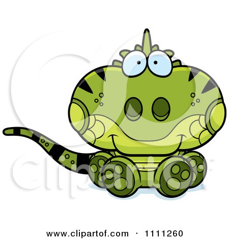 Royalty-Free (RF) Cute Iguana Clipart, Illustrations, Vector ...