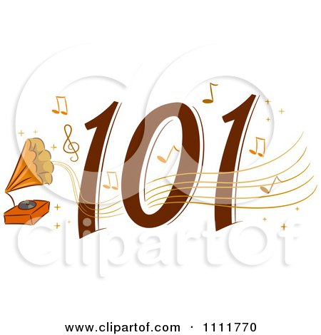 Clipart Classical Music 101 Icon - Royalty Free Vector Illustration by BNP Design Studio