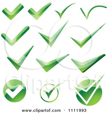 Royalty Free Vector on Clipart Green Check Mark Icons 2 Royalty Free Vector Illustration Jpg