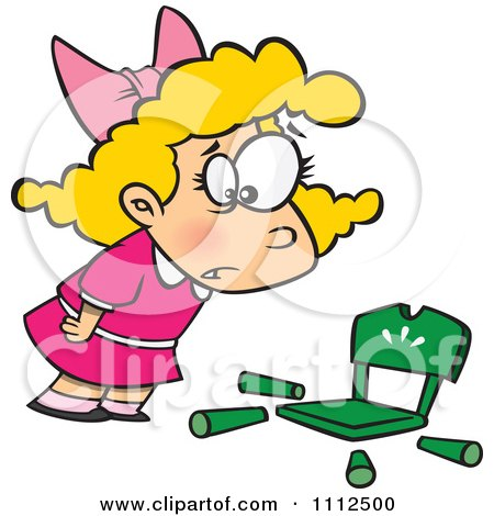 clipart girl goldilocks with a broken chair royalty free vector rh clipartof com free clipart goldilocks and the three bears goldilocks clipart black and white