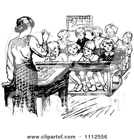Royalty Free Teacher Illustrations by Prawny Vintage Page 1