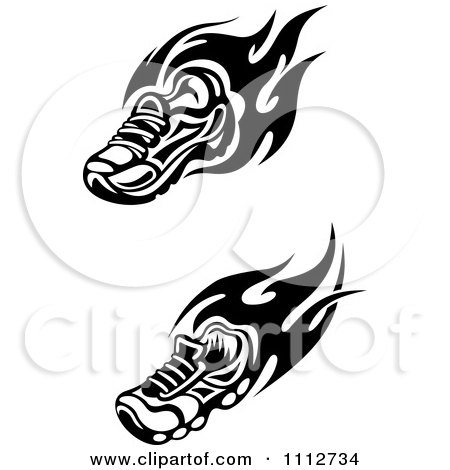 Royalty-Free (RF) Shoe Clipart, Illustrations, Vector Graphics #1