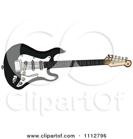 Black Fender Stratocaster Electric Guitar Posters, Art Prints