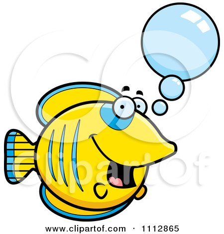 Clipart Talking Butterflyfish - Royalty Free Vector Illustration by Cory Thoman