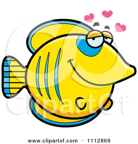 Clipart Butterflyfish In Love - Royalty Free Vector Illustration by Cory Thoman