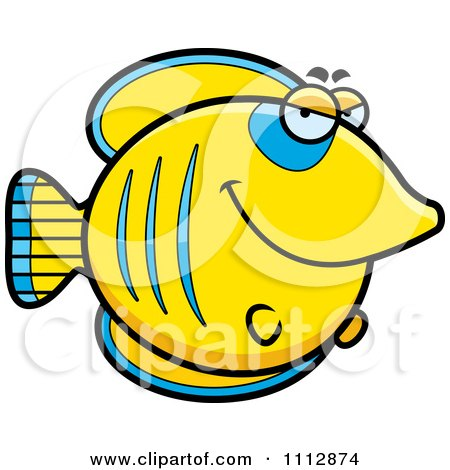 Clipart Sly Butterflyfish - Royalty Free Vector Illustration by Cory Thoman