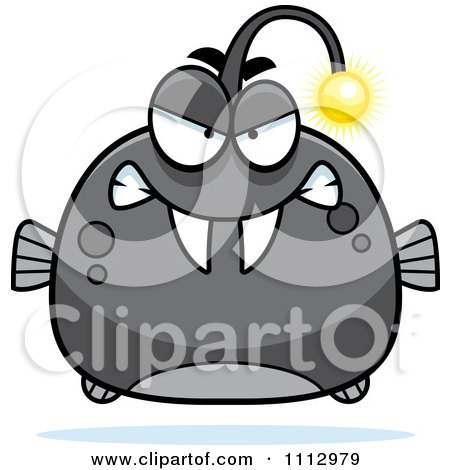 Clipart Angry Viperfish - Royalty Free Vector Illustration by Cory Thoman