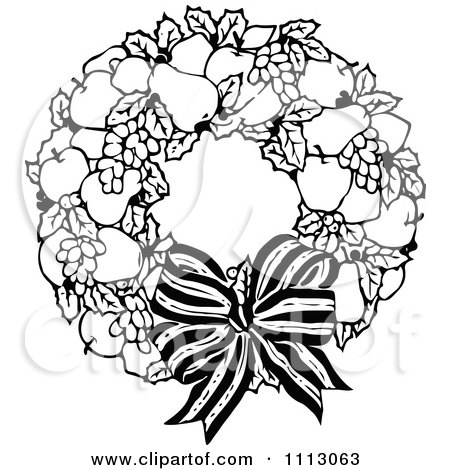Advent Wreath Drawing