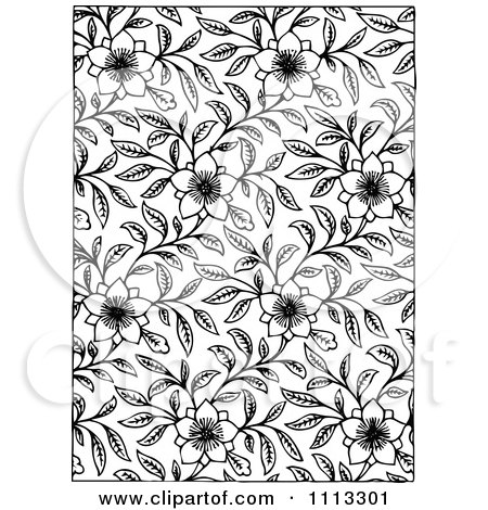 clipart background of flowers and vines in black and white royalty rh clipartof com Vintage Angel Clip Art Black and White Christian Clip Art Gallery