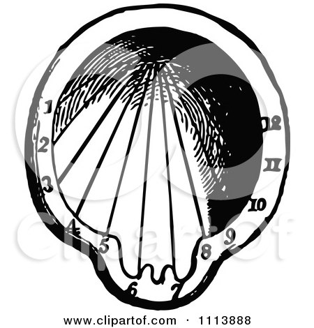 Royalty Free Rf Clipart Of Sundials Illustrations